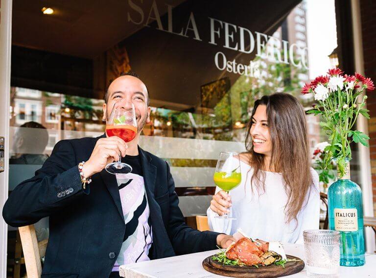 Sala Federica, the Italian restaurant