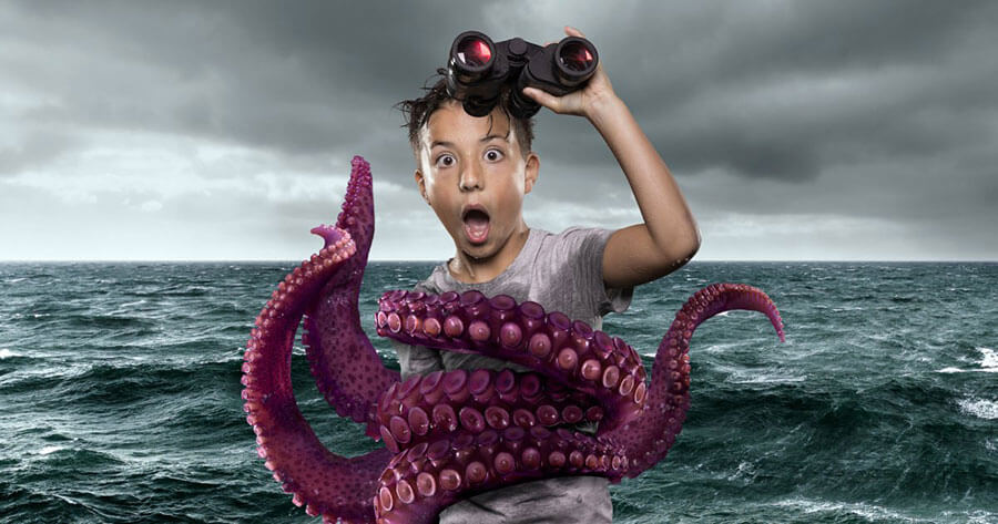 Sea Monsters in Maritiem Museum Rotterdam