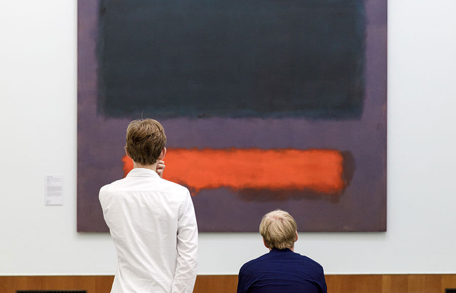 Be alone with Rothko