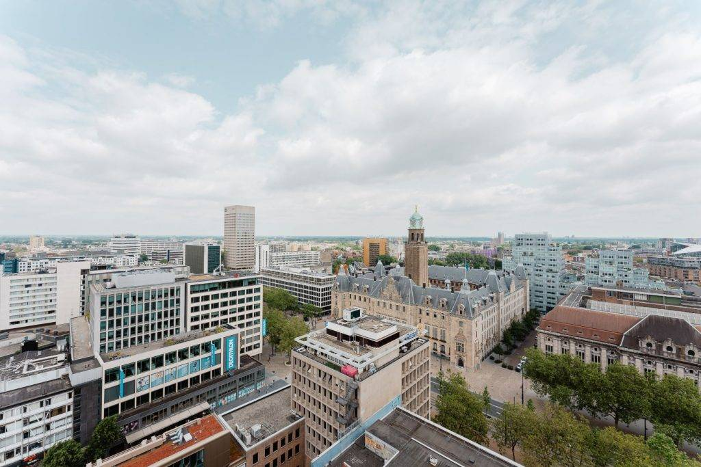 Microlab view on Rotterdam