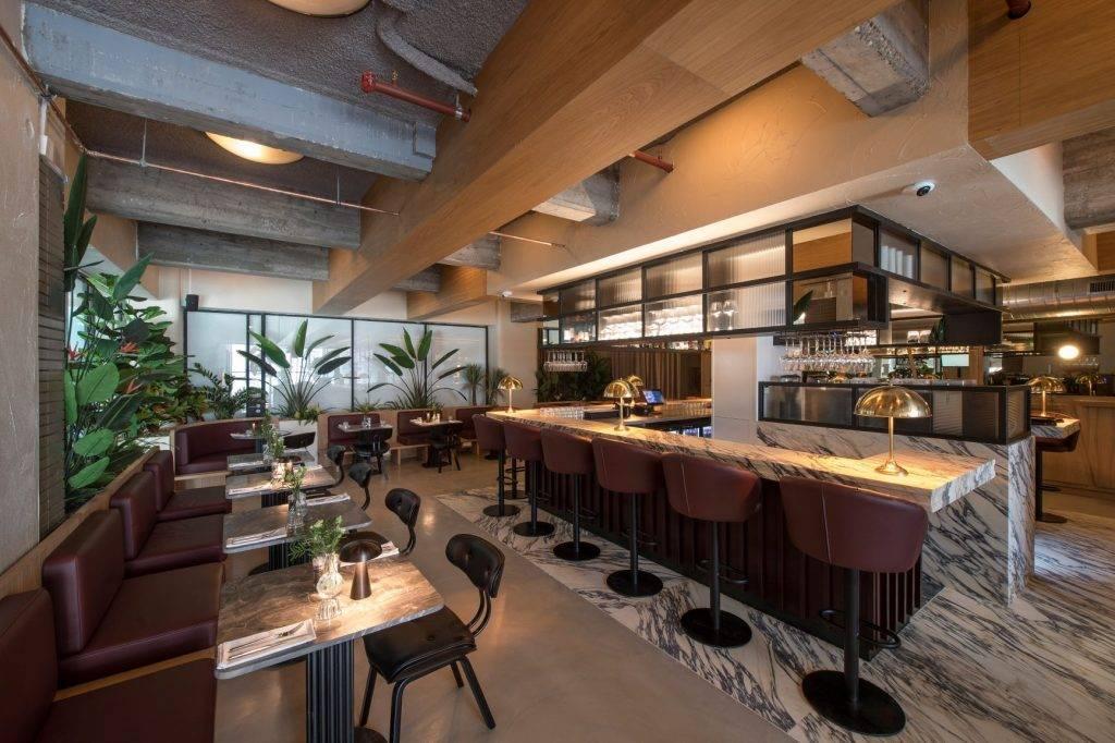 Inside Rotterdam Brasserie Jules