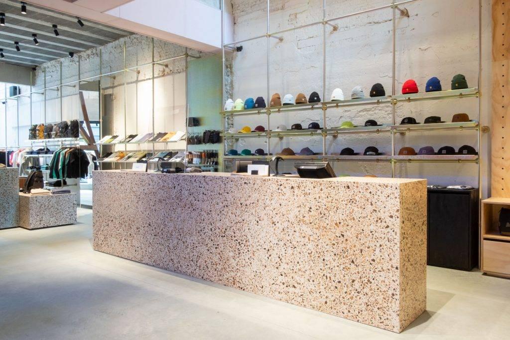 The recently opened Carhartt WIP store in Antwerpen