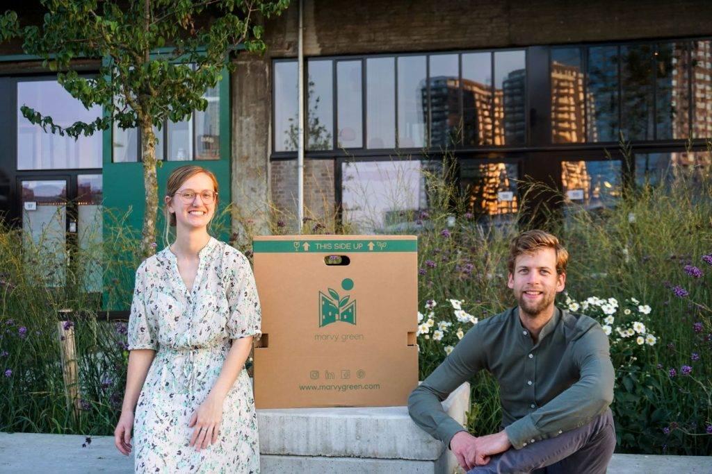 Marvy Green Balcony Box