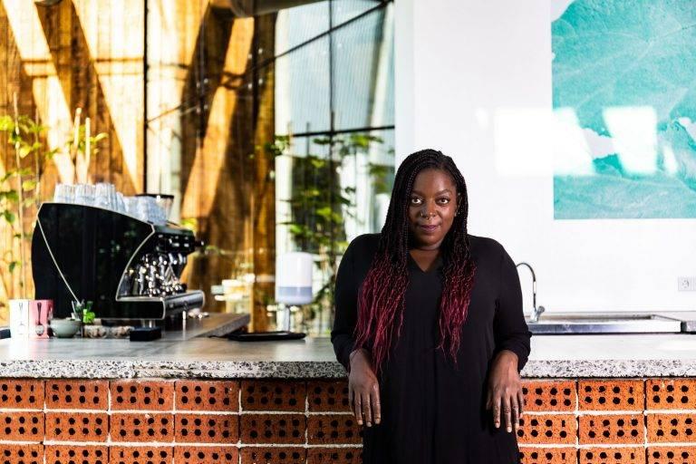 Manuela Goncalves Tavares runs Het Nieuwe Café