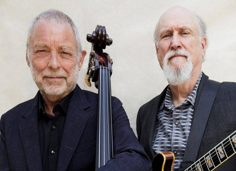 Dave Holland and John Scofield at Dutch Double Bass Festival Rotterdam